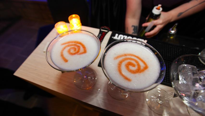 Glasses at Bar - Special Events PORTFOLIO